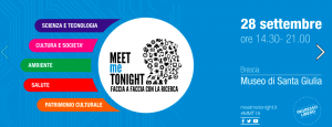 Meet Me Tonight - La notte dei Ricercatori