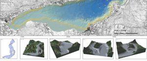 Realizzazione di una carta morfobatimetrica del Lago d'Iseo