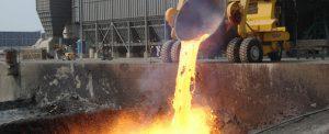 Recupero di scorie d'acciaieria come aggregato nel calcestruzzo