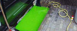 Dosaggio di Fluorescina Sodica per la colorazione dell'acqua circolante nelle reti del teleriscaldamento e gli effetti dell'interazione con l'ambiente e l'organismo umano