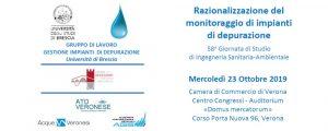 58.a Giornata di Studio di Ingegneria Sanitaria-Ambientale - Razionalizzazione del monitoraggio di impianti di depurazione