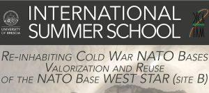 International Summer School: Re-inhabiting Cold War NATO Bases