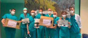 sensibilizzazione dei partner di ricerca cinesi sull'emergenza COVID a Brescia - donate 20000 mascherine all'ospedale Civile di Brescia
