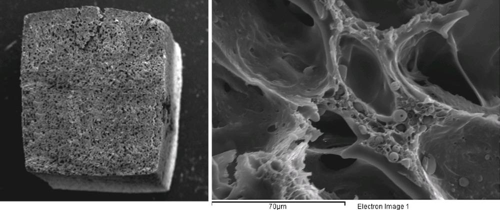 Struttura bioattiva integrata core-shell per la rigenerazione di tessuti