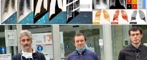 Intelligenza Artificiale e immagini radiografiche per stimare il grado di severita' della polmonite. Uno studio del DII